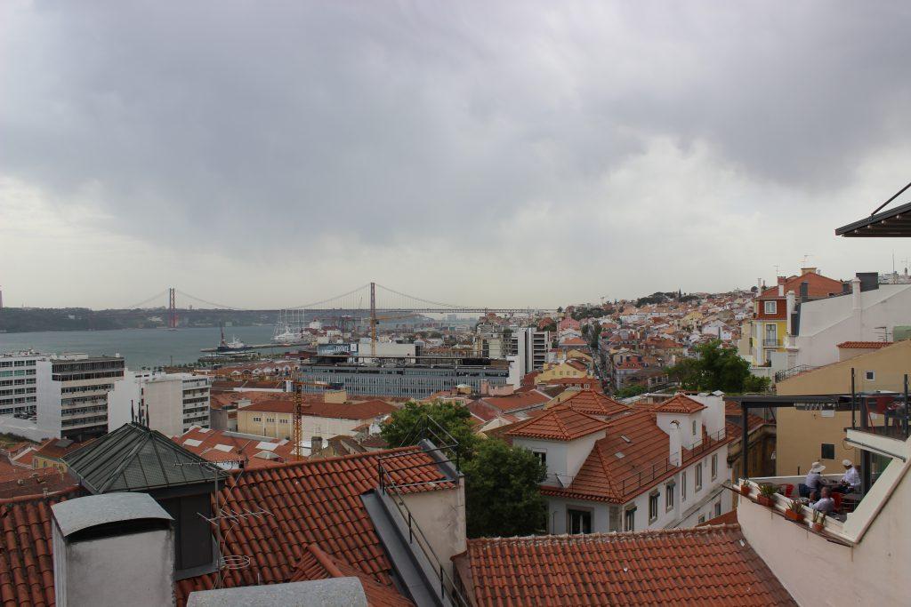 Lisbonne - miradouro - Parenthèse australienne