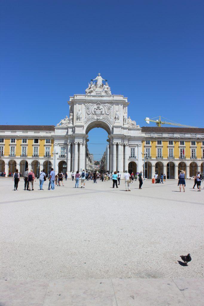 Place du commerce - Lisbonne - Comptoir des Voyages
