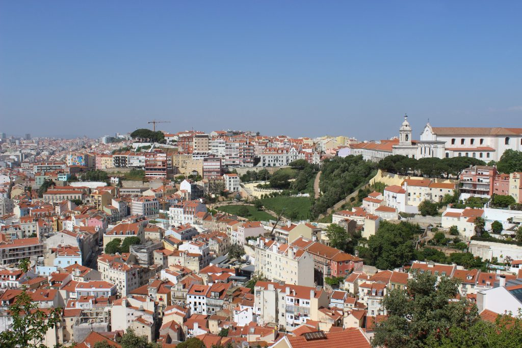 Château Sao Jorge - Lisbonne - Parenthèse australienne
