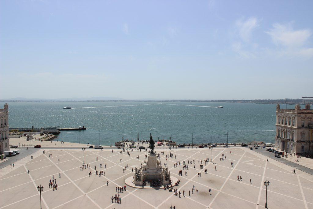 Place du commerce - Lisbonne - Parenthèse australienne