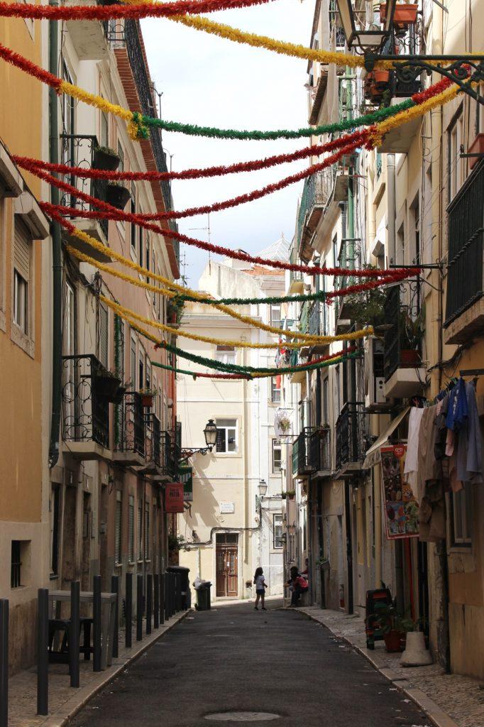 Lisbonne - rue - Parenthèse australienne