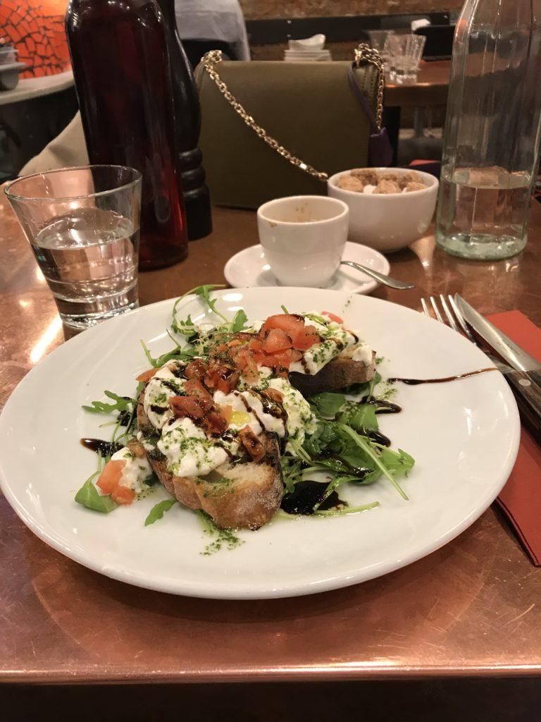 Eco restaurant - Londres Parenthèse Australienne