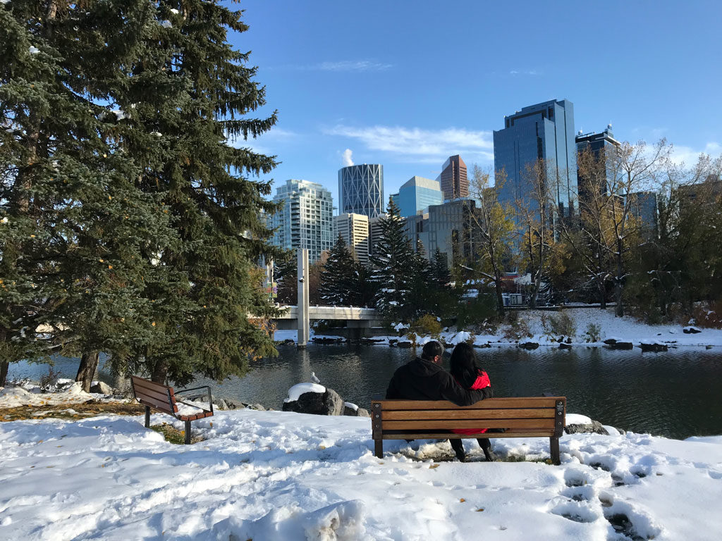 Calgary au Canada