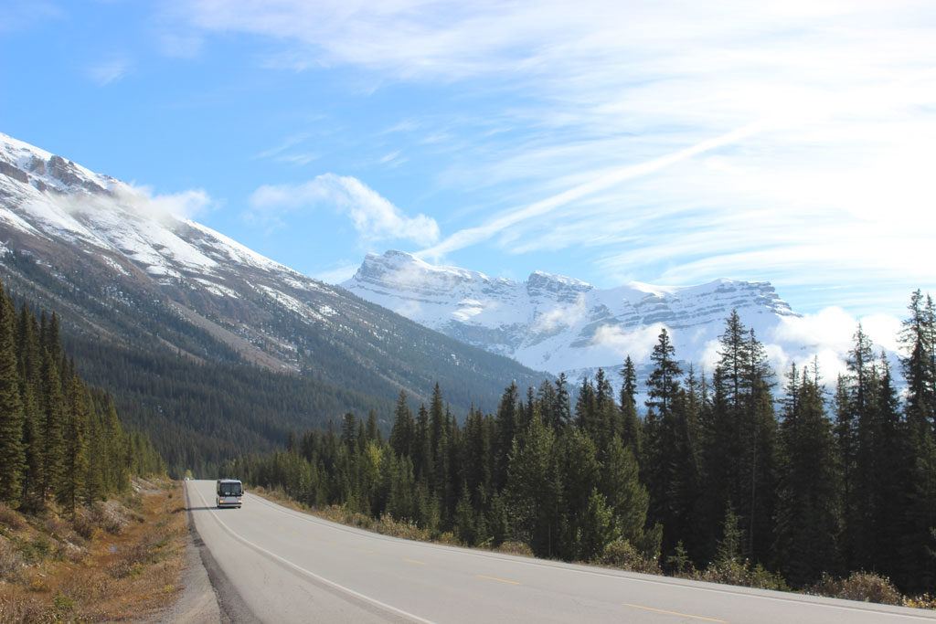 Icefields Parkway - Les Rocheuses- Banff - Canada - Parenthèse Canadienne