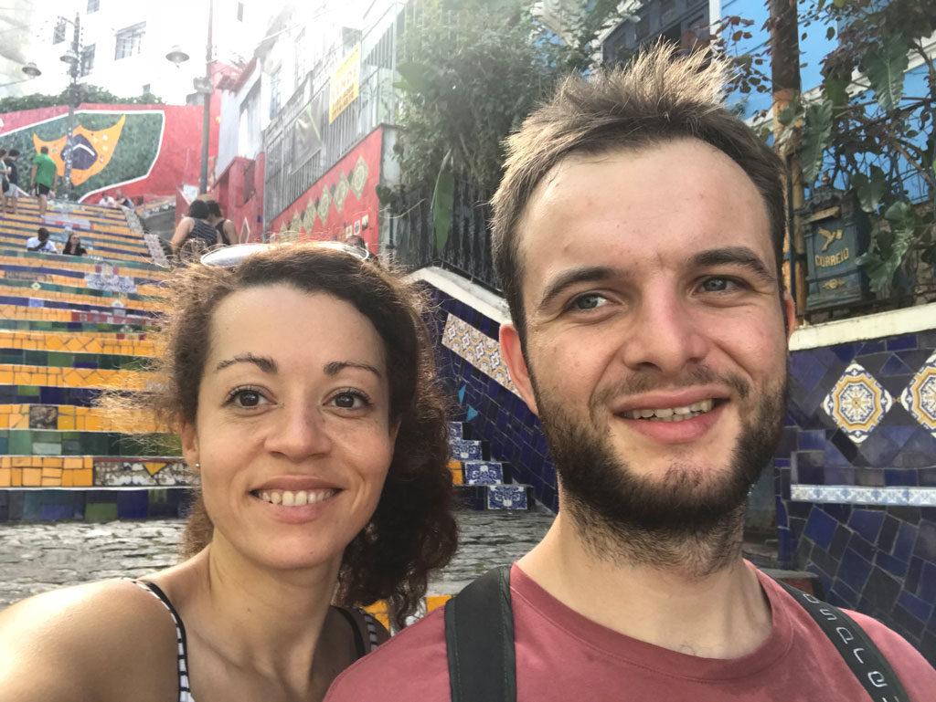 Escadaria Selaron - Rio de Janeiro - Brésil - Parenthèse Brésilienne