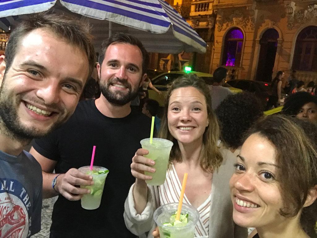 Soirée brésilienne - Rio de Janeiro - Brésil - Parenthèse Brésilienne