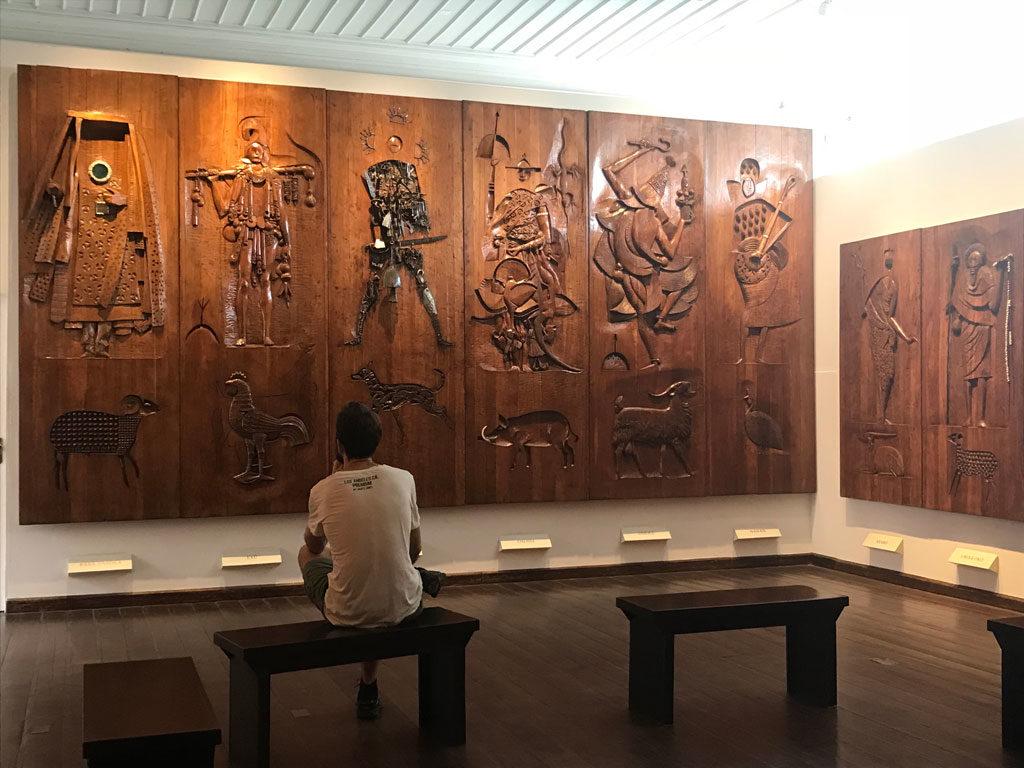 Parenthèse Brésilienne - Salvador - Nordeste - Musée Afro-Brésilien - Orixas