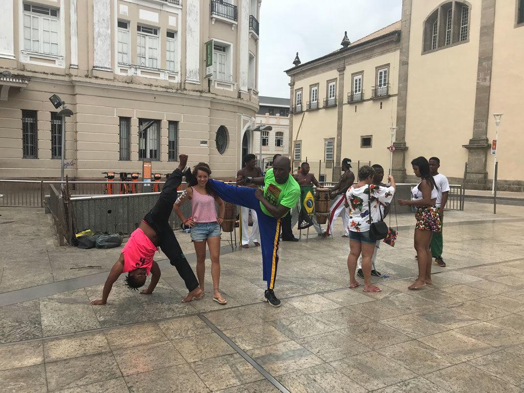 Parenthèse Brésilienne - Salvador - Nordeste - Pelourinho - Capoeira