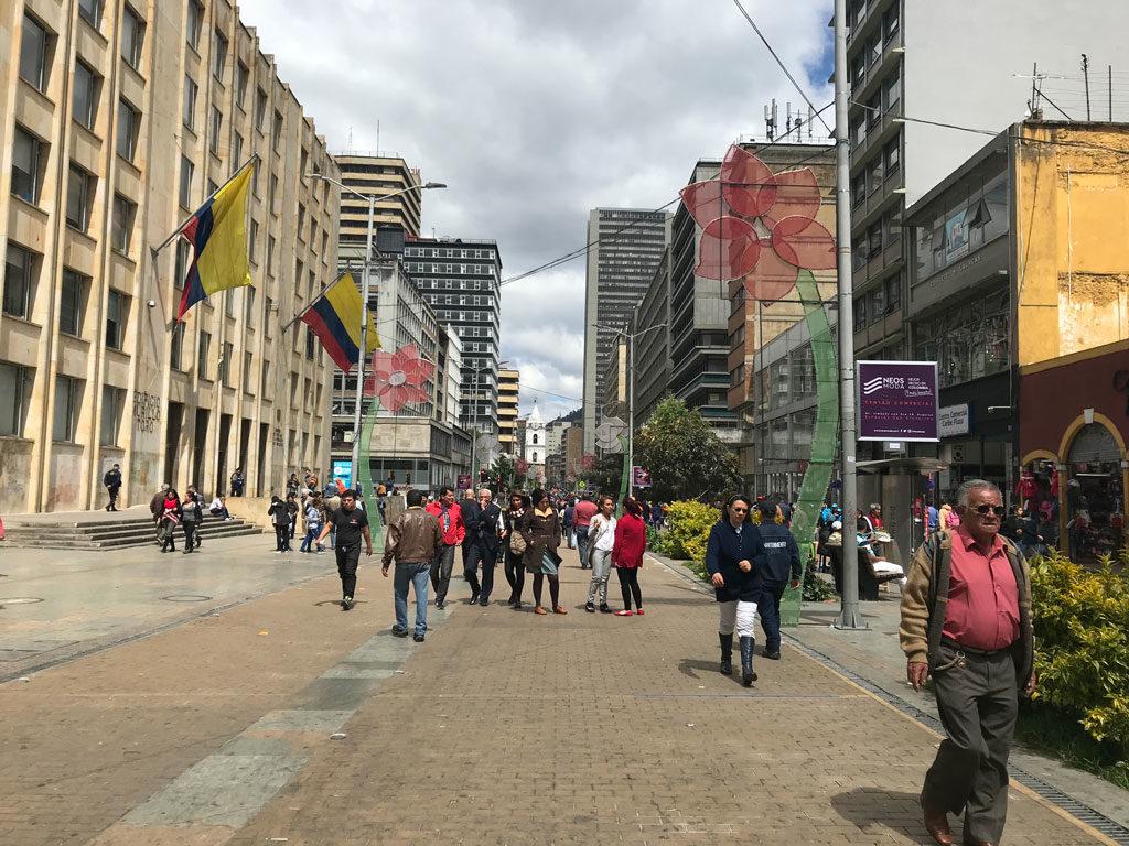 Bogota - Colombie - Centre ville - Parenthèse Colombienne
