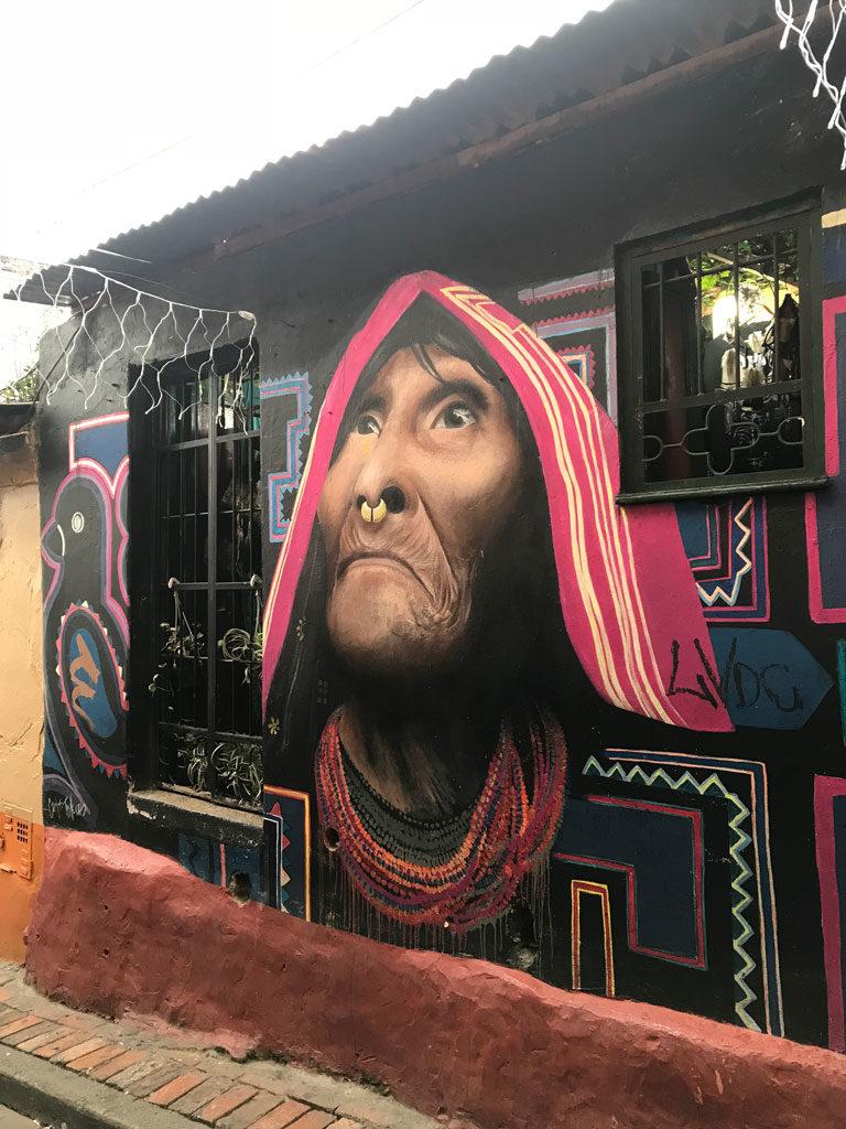 Bogota - Colombie - Street Art - Parenthèse Colombienne