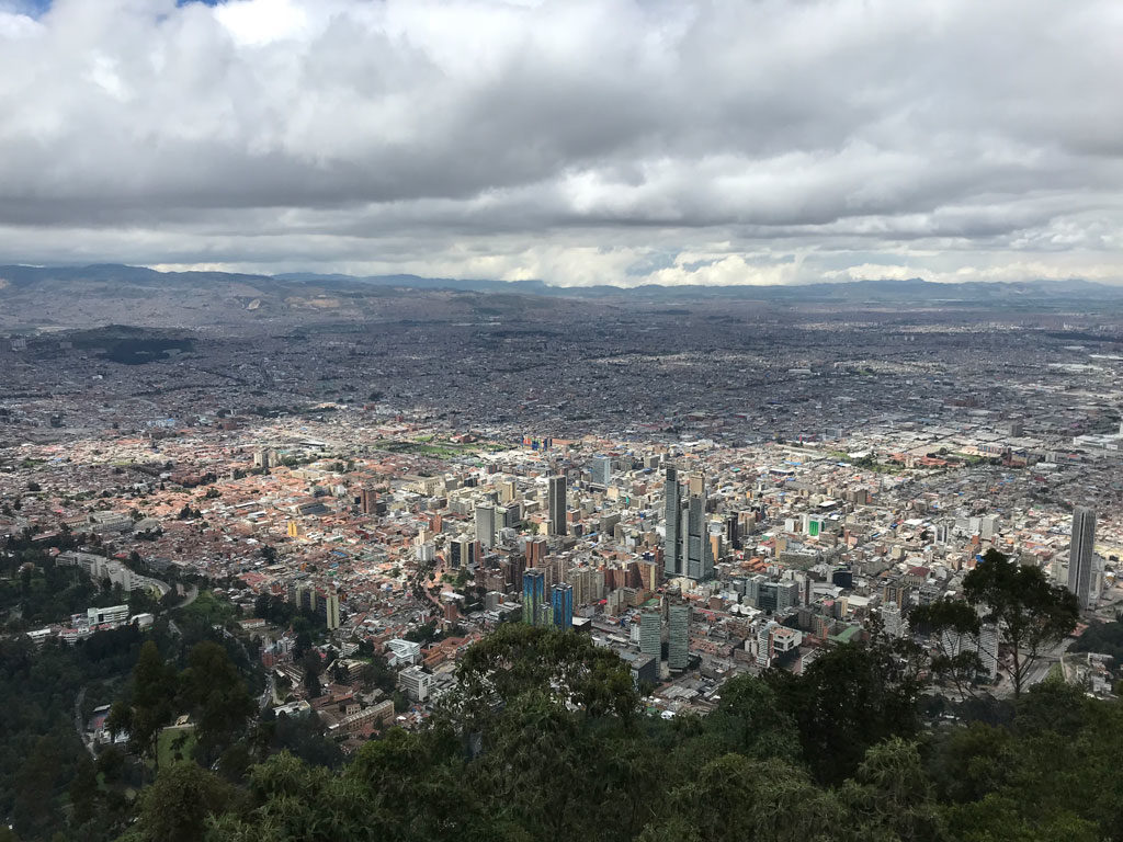 Bogota - Colombie - Monserrate - Parenthèse Colombienne