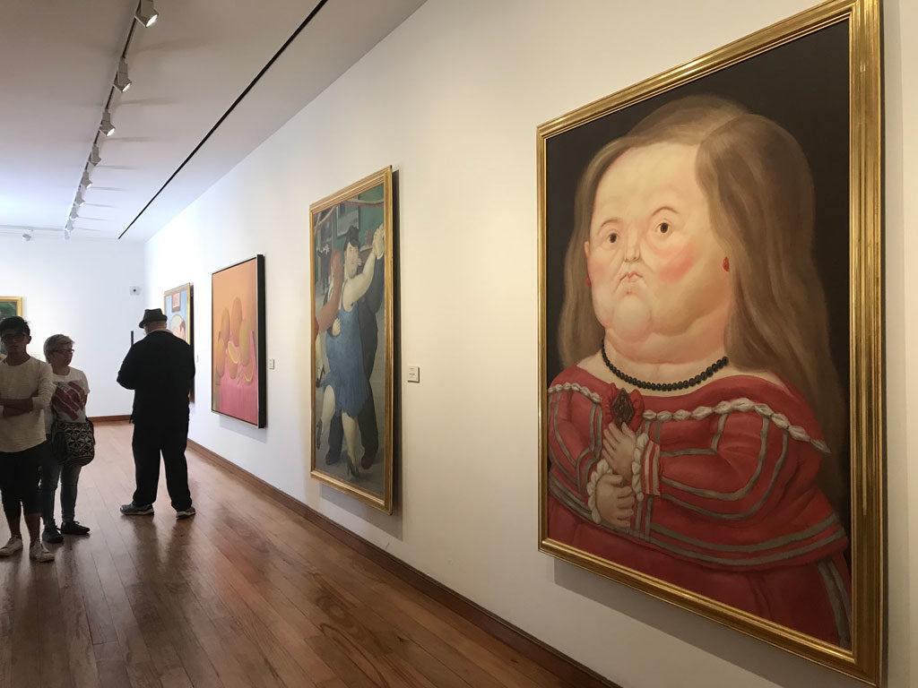Bogota - Musée Botero - Peintre - Parenthèse Colombienne