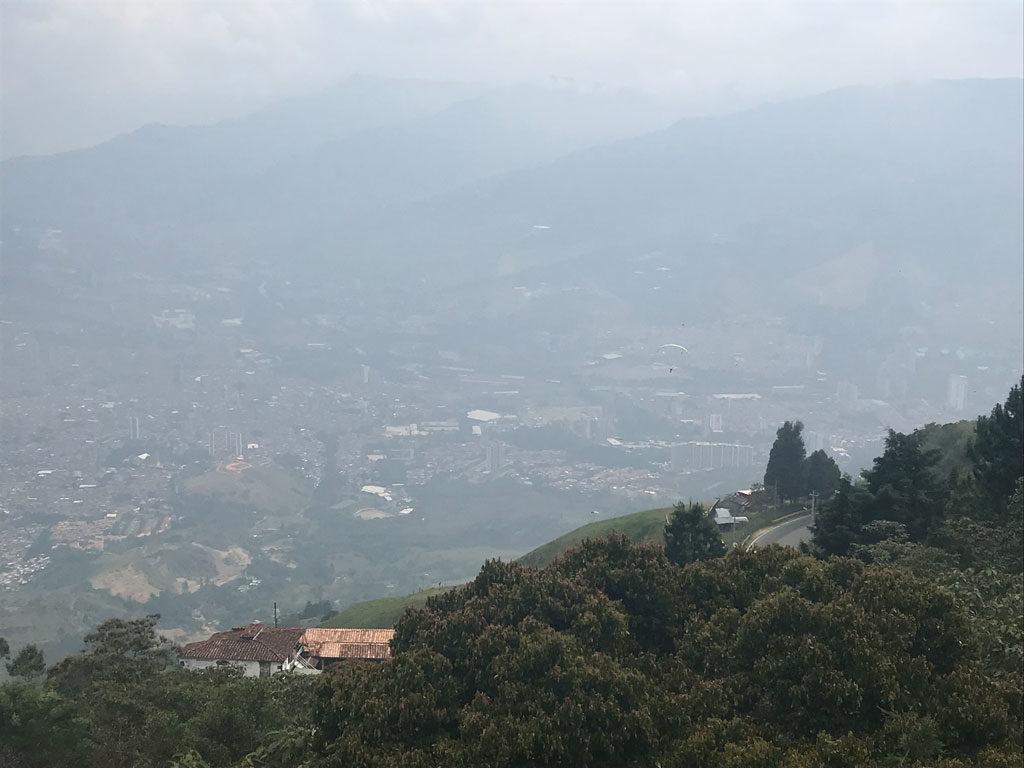 Vol - Parapente - Medellin - Parenthèse Colombienne