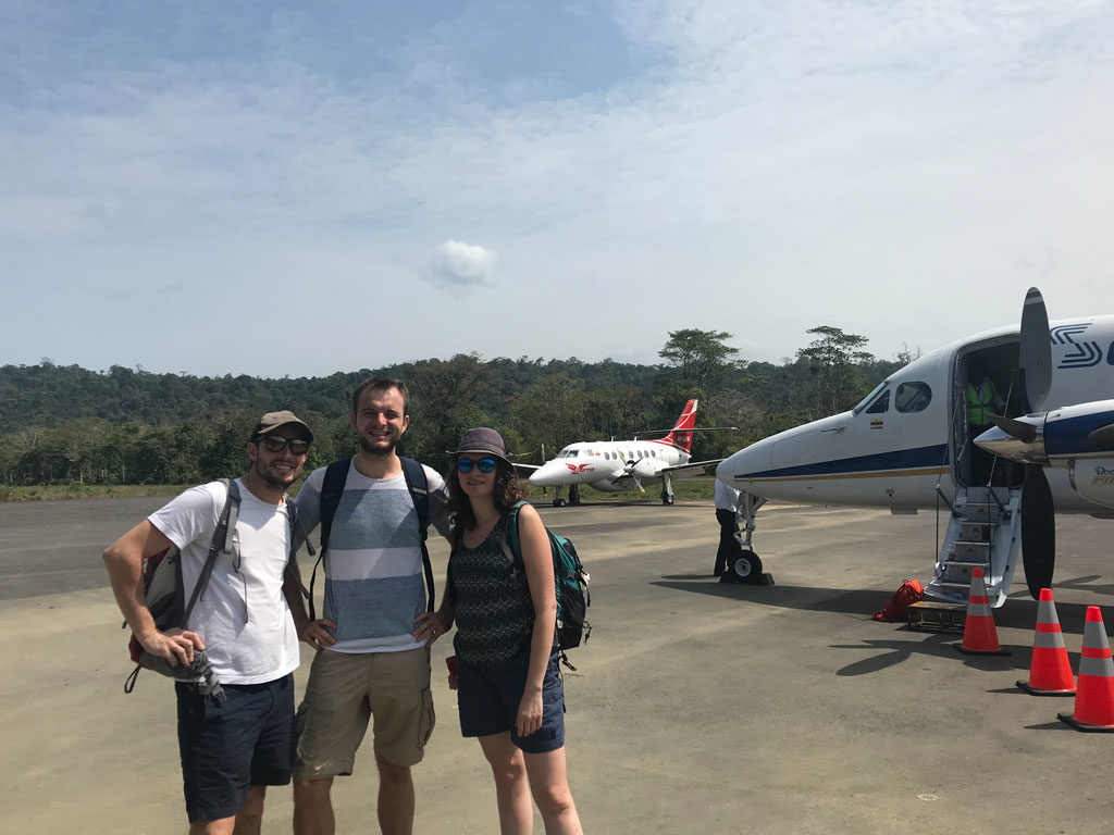 Arrivée à Bahia Solano