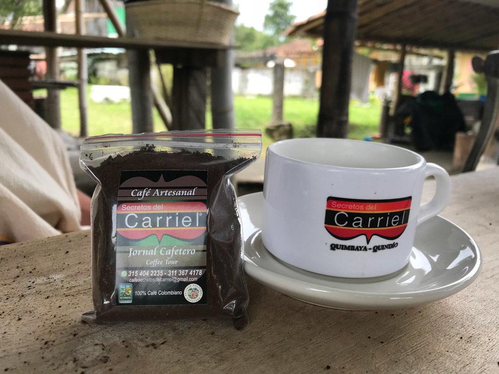 Dégustation de café à Quimbaya