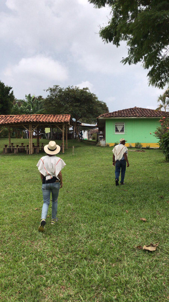 La finca El Carriel en Colombie