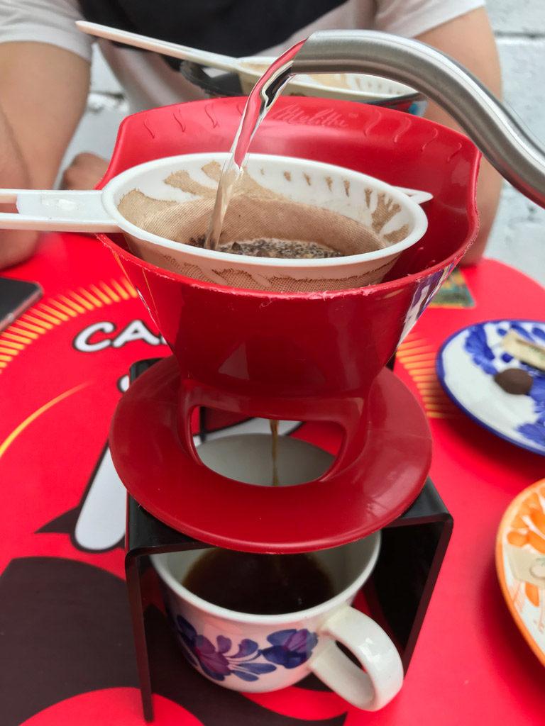 Café sin p bonne adresse à Guatapé