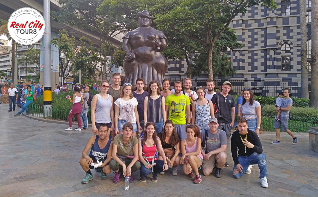 Free walking tour à Medellin